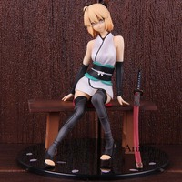 Fate Grand Order Okita Souji Saber Resting Swordsman Action Figure Ver.1/8 Scale Painted Figure Collectible Model Toy
