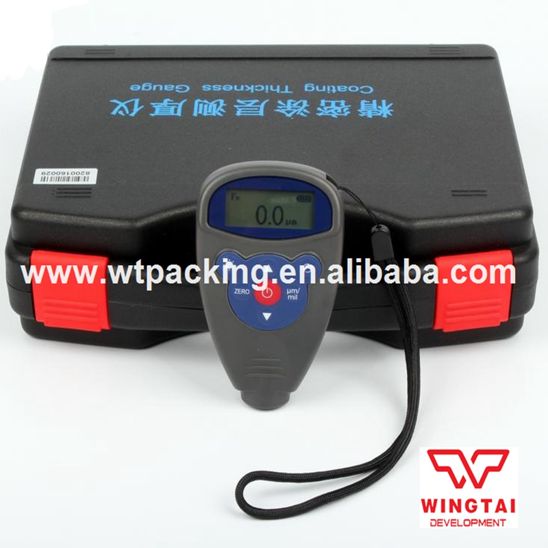 WH82 Digital Paint Coating Thickness Gauge Digital Tester Meter Range 0-1250um Magnetic + Eddy Current Gauge Car-detector exploit high precision 0 01mm profession digital lcd display thickness gauge meter paper leather fabric thickness tester