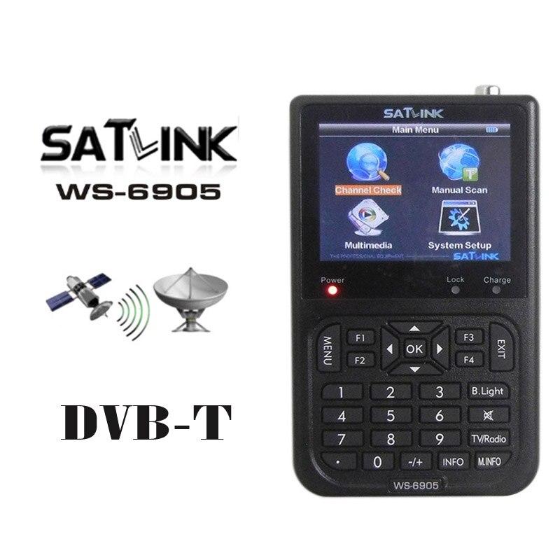 SATLINK ws-6905 meter Digital Terrestrial WS6905 dvb-t signal finder WS 6905SATLINK ws-6905 meter Digital Terrestrial WS6905 dvb-t signal finder WS 6905