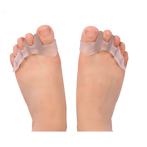 Toe Orthopedic Supplies Gel Toe Separator Stretcher for Dancer Yogis Athlete Bunion Relief Hammer Claw Crooked Toes Straightener