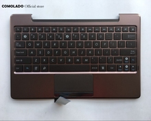 цены US English  Laptop Keyboard For ASUS TF101 TF201 TF201T TF700T palmrest Upper cover Keyboard US Layout