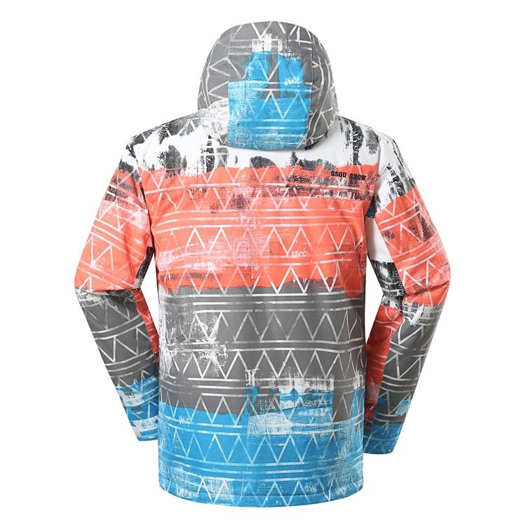 Invierno  chaqueta de deporte al aire libre colorido de esquí chaquetas nieve ni