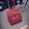 Женщины кожаные рюкзаки для подростков девушки женская мода высокого качества школьные сумки женские рюкзак sac dos femme