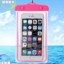 phone waterproof bag case on For