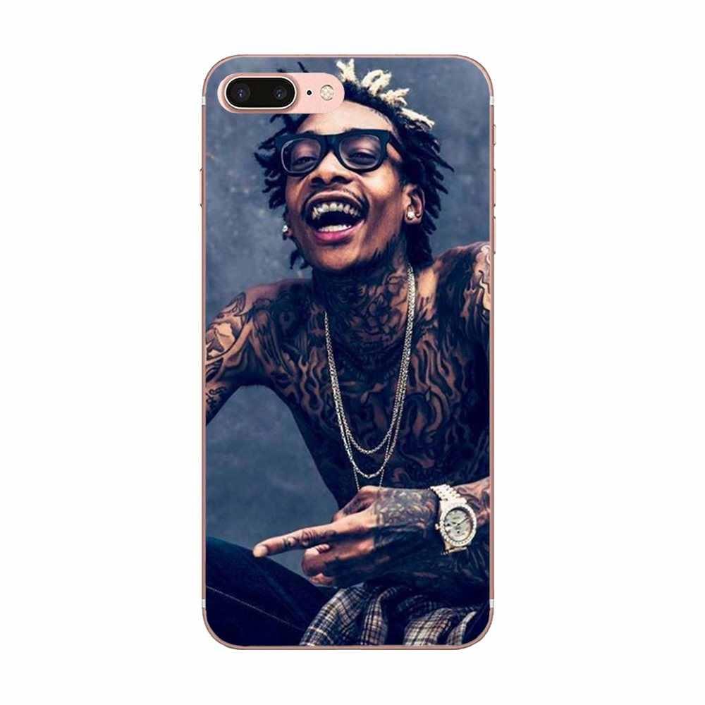 Superventas TPU para Huawei P7 P8 P9 P10 P20 P30 Lite Mini Plus Pro 2017 2018 2019 Hip-hop súper rapero negro