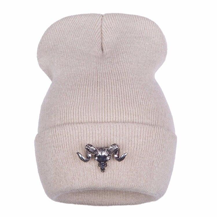 ⃝Ralferty 2017 Toro de Metal decorado Otoño Invierno sombrero para ... d4ed9a4485ee