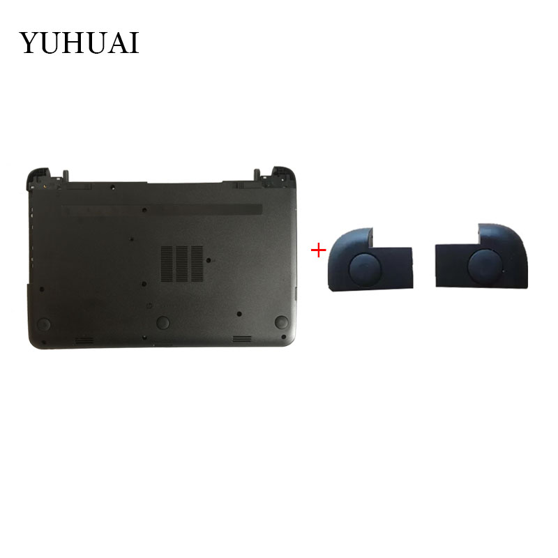 NEW Laptop Bottom Base Case Cover/Foot pad cover for HP pavilion 15-G 15-R 250 255 256 G3 new lcd back cover for hp 15 g 15 r 250 g3 255 g3 rear case 760967 001 ap14d000c70 gray