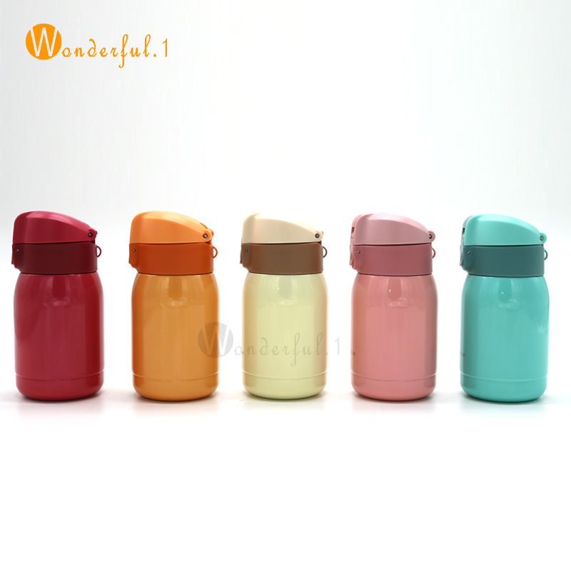 200ML Mini Thermos Coffee Vacuum Flask Stainless Steel Drink Water Bottle Termos Thermo Cup And Mug