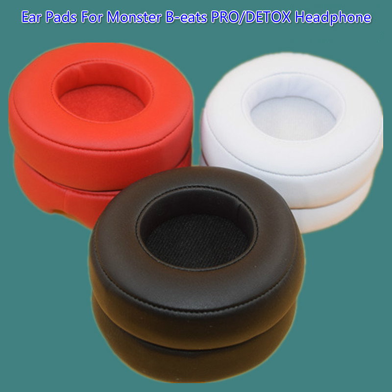 Replacement Ear Pads Puter for Monster Beats Av Dr Dre PRO / DETOX hodetelefon