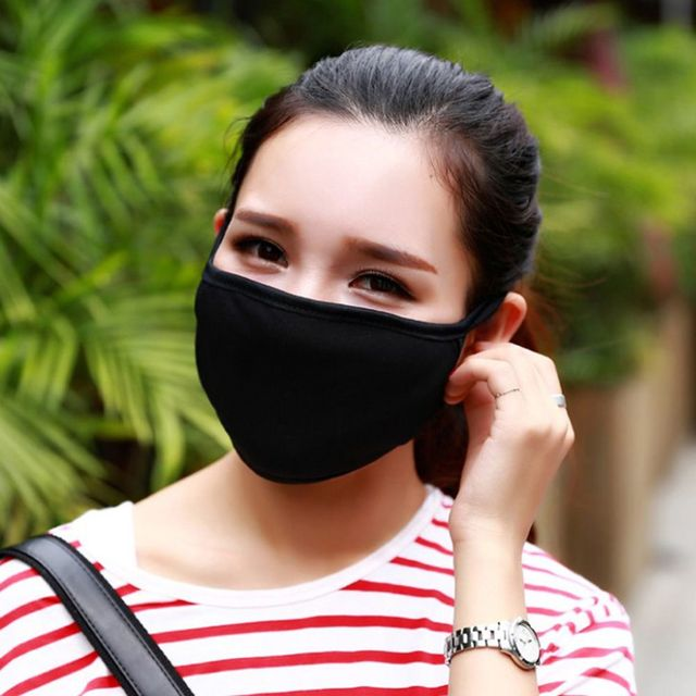134c12411 Hot Unisex Winter Autumn Warm Mouth Anti-Dust Flu Face Mask Surgical  Respirator Mask Pure Color Black Women Men Mask Facial Care
