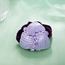 CHIMERA Luxury Hair Scrunchies with Crystal Soft Velvet Elastic Bands Women Accessories Ponytail Holder for Thick