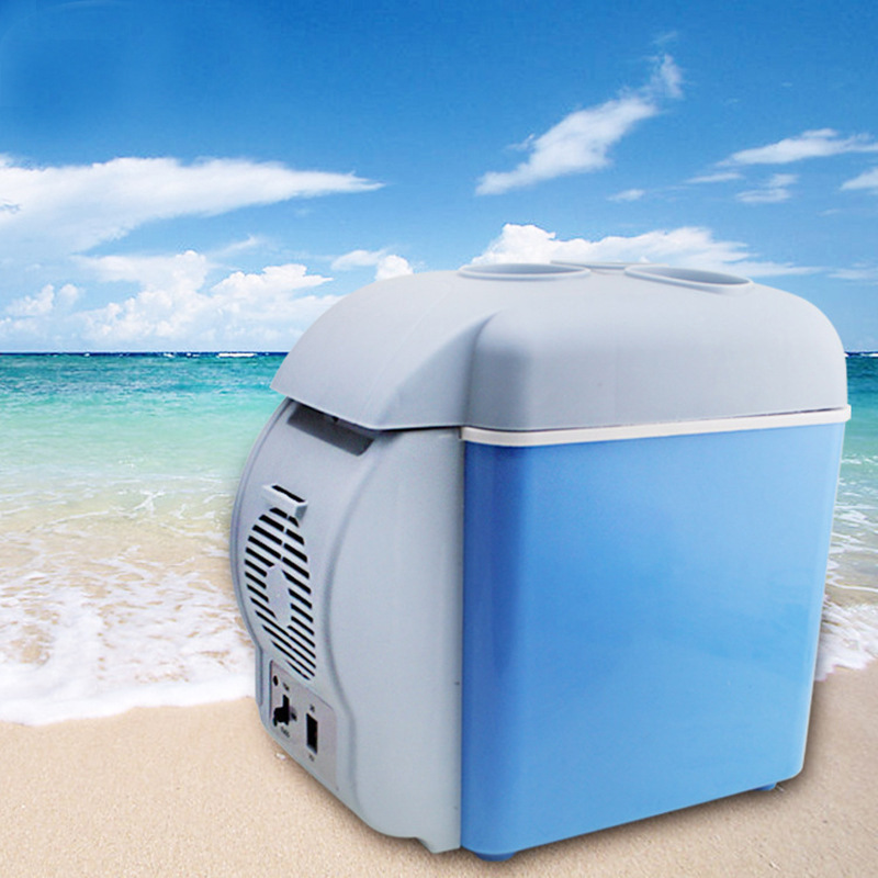 7.5Lportable  Mini Refrigerator Mini Fridge  Car Electrical Cooler Cooler Box 7.5l Mini Portable Fridge With Free Shipping