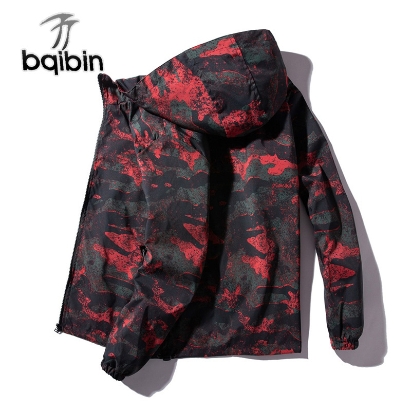 2019 Jackets Men Camo Jacket Windbreaker Jaqueta Masculina Mens Camouflage Jackets Spring And Autumn Men Jacket Plus Size 7XL