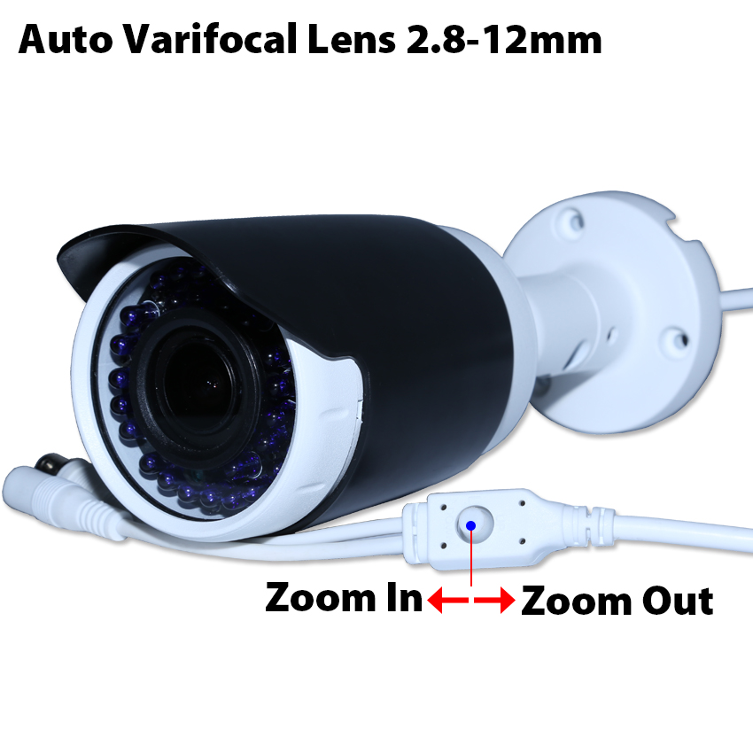 1080P sony IMX291 CMOS 2.8-12mm auto varifocal lens waterproof IR camera support UTC support AHD/TVI/CVI/CVBS 4 in 1 ir high speed dome camera ahd tvi cvi cvbs 1080p output ir night vision 150m ptz dome camera with wiper