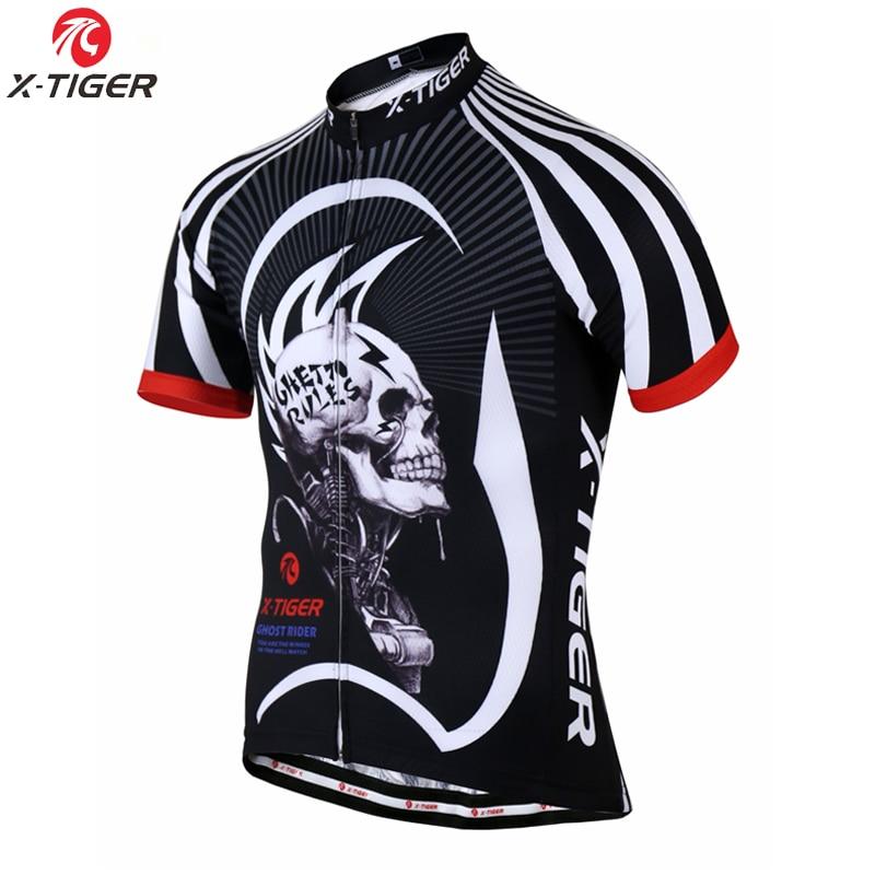Prix pour X-TIGER 17 Style Respirant Vélo Jersey D'été VTT Vélo Vêtements Maillot Roupas Ciclismo Vélo Vêtements Sportwear Pour Homme