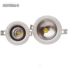 Led Downlight 220V 110V 240V 12W 15W Dimmable LED Ceiling Round Recessed Lamp Waterproof Spot Light For Bathroom Kitchen