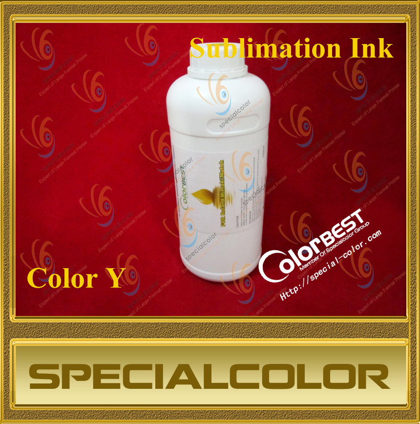 Factory Directly Yellow Color Inkjet Printer Sublimation Ink for Roland Y pa 1000l printer ink damper for roland rs640 sj1045ex sj1000 mutoh rhx vj1064 more