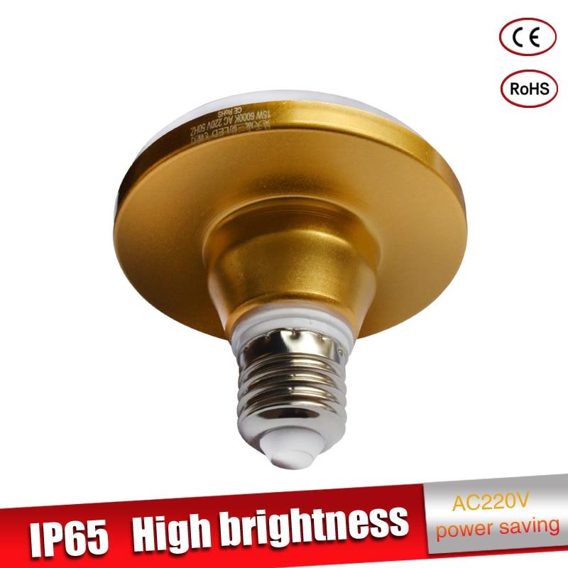 Купить с кэшбэком UFO E27 LED Lamp 220V 230V High Bright LED Bulb 15W 20W 24W 36W 55W LED Corn Light SMD 5730 No Flicker Chandelier Light
