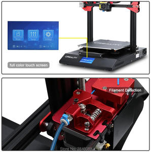 Image 5 - CREALITY 3D CR 10S Pro 자동 레벨링 센서 프린터 4.3 인치 터치 LCD 이력서 인쇄 필라멘트 감지 기능 MeanWell Power