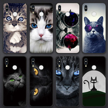 Cartoon Cat Coque TPU Cases For Huawei P30 P20 P10 P9 P8 Mate 20 10 Pro