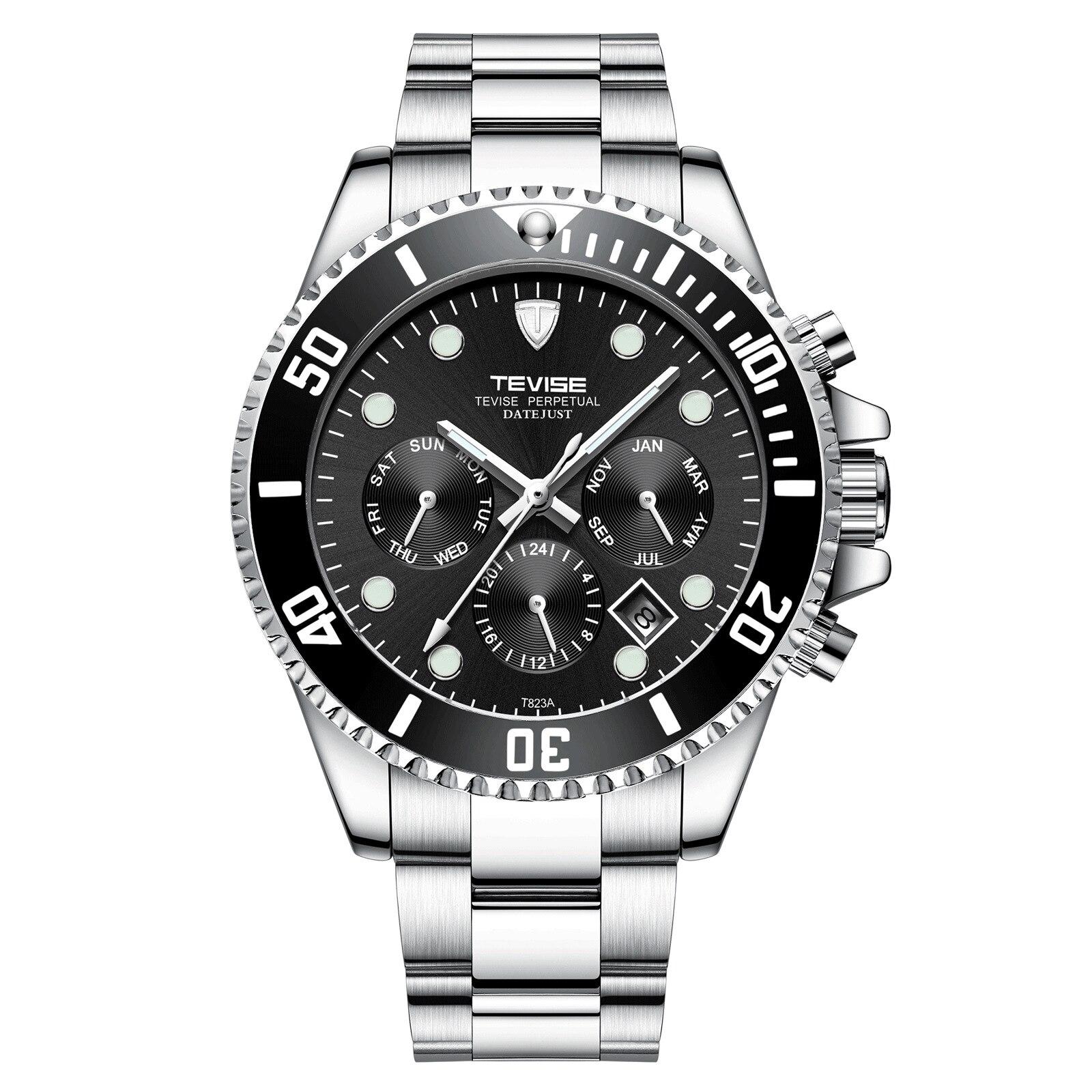 Prova D' Água Auto Enrolamento Relógios de Pulso Relogio masculino