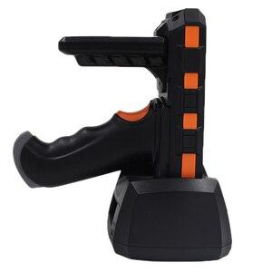 Image 5 - 산업용 견고한 휴대용 모바일 pda 데이터 수집 터미널 무선 핸드 헬드 pda 바코드 스캐너 안드로이드 권총 그립