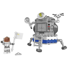 XINGBAO 16001 NEW Apollo Space Exploration Satellite Landing On The Moon Aerospace Model Building Blocks Bricks Christmas gifts