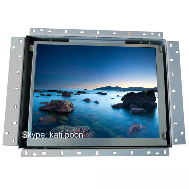 15 \'\' 4 : : 3 Square abrir monitor lcd marco, puerto USB bucle de ...