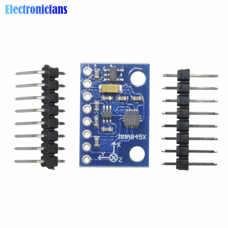 Mma8452 mma8452q mma7361 módulo digital triaxial acelerômetro precisão tilt 3-axis para arduino