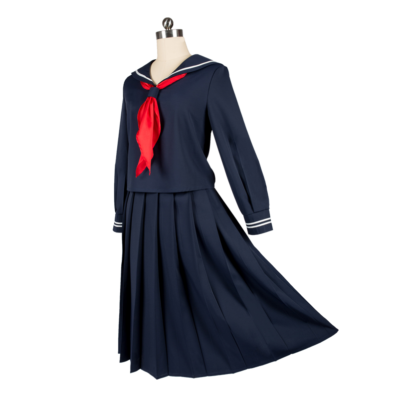 Fate/Grand Orde Cosplay FGO Joan of Arc Sailor suit summer dress cosplay costume spectacles top dress 1