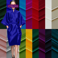 Winter Full Dress Fashionable Coat Cheongsam Sewing Material 50cm Mulberry Silk Fabric