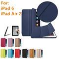 Происхождение 1:1 для iPad Air 2 case cover для iPad Air 2 для iPad 6 case + screen film + pen бесплатная доставка