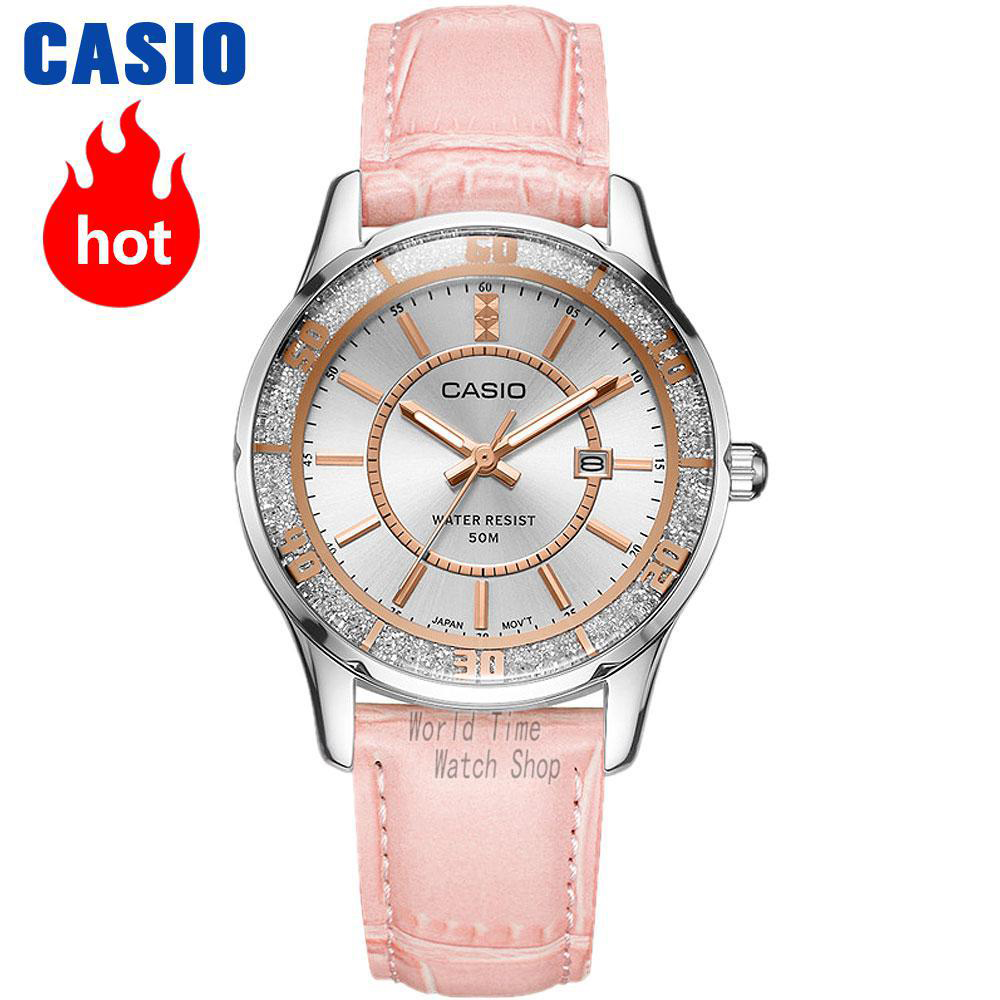 Casio watch Casual fashion simple business ladies watch LTP-1358D-2A LTP-1358D-4A LTP-1358D-7A LTP-1358L-1A LTP-1358L-4A casio watch 2018 new fashion trend quartz watch simple fashion waterproof strip ladies watch women watch ltp 1410l ltp 1410d