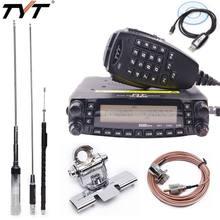 2020 1806A TH-9800 Plus transceptor TYT Pro 50W 809CH Quad Band Dual Display Repetidor Scrambler VHF UHF Carro Móvel rádio TH9800