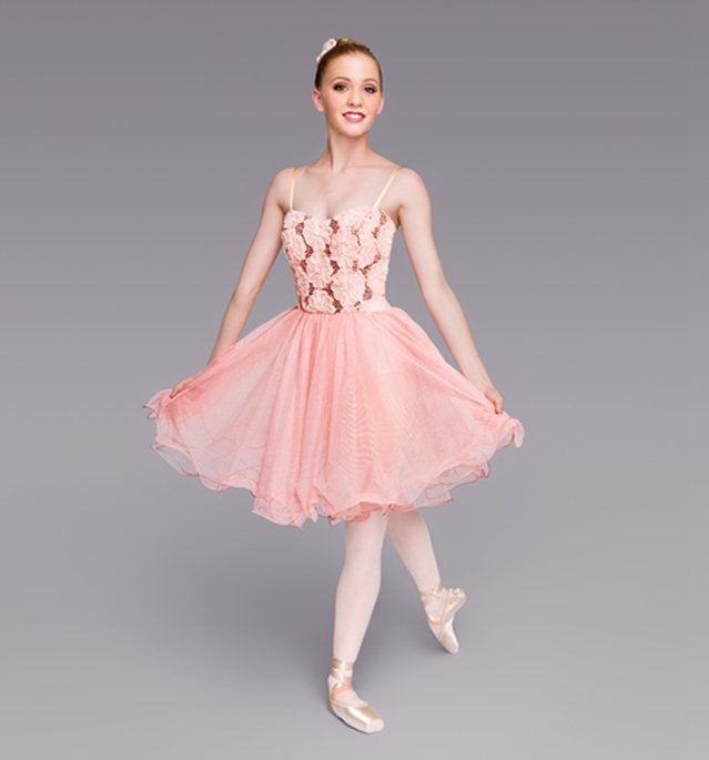 Pink ballet tutu dress adult ballerina costumes ...