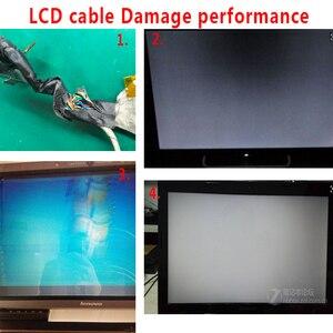 Image 3 - וידאו מסך להגמיש עבור Dell 3542 3541 5542 7542 3543 3546 3549 15 3000 LCD LED LVDS תצוגת סרט כבל 450.00H01.0021 0FKGC9