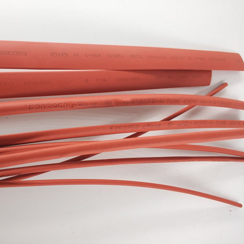 1 M/lot 2:1 Red Halogen free thermal shrinkable tube 2mm 2.5mm 3mm 3.5mm 4mm Heat Shrink Heatshrink Tubing Tube