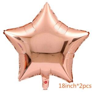 Image 5 - Globos GIHOO de 16 pulgadas, globos EID mubarak Decoración de Ramadán de oro rosa EID para decoración musulmana de fiesta feliz, globos de confeti