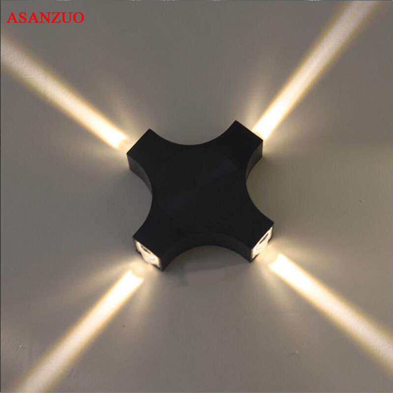12W LED Wall Lights creative light effect hotel KTV party beam wall lamps aisle wall decoration lighting fixture creative led 3d nightlight hockey for kid boy gift wall decoration holiday party hockey lighting iy303166 5