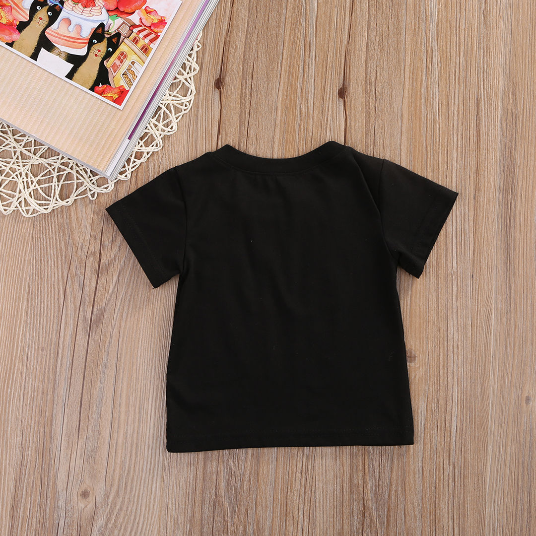 Unisex-Baby-Boys-Girls-Clothes-Short-Sleeve-Black-Letter-T-Shirt-Short-Sleeve-Cotton-Tees-Tops-T-Shirts-Clothing-0-24M-4