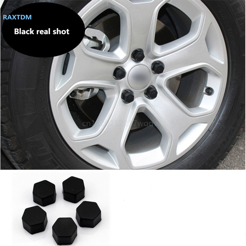 Car Styling 20pcs Silica Caps Hub Screw Protector for Mazda 2 3 5 6 CX-3 CX-4 CX-5 CX5 CX-7 CX-9 Atenza Axela
