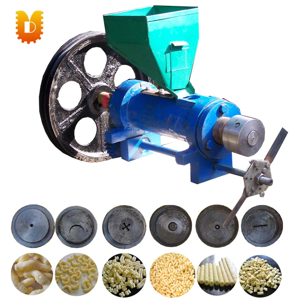 40kg/h corn, millet, sorghum puffing machine/grain extruder(without motor) multifunctional corn and rice puffing machine grain bulking extruder machine puffed maize snacks making machine zf