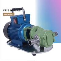 WCB 30 Portable Electric Oil Transfer Pump 220V/380V 30L/Min Oil Pumping Pump