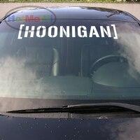 2x HOONIGAN Car Sticker Decal Car Styling For Ford Focus 2 Fiesta VW Mazda Fornt Windshiel