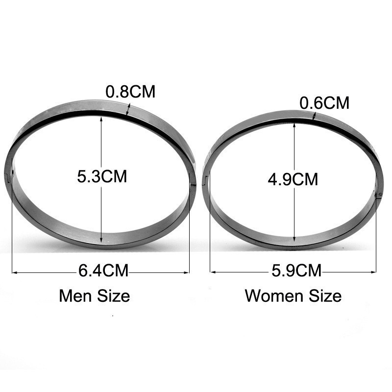 Men and Women Size