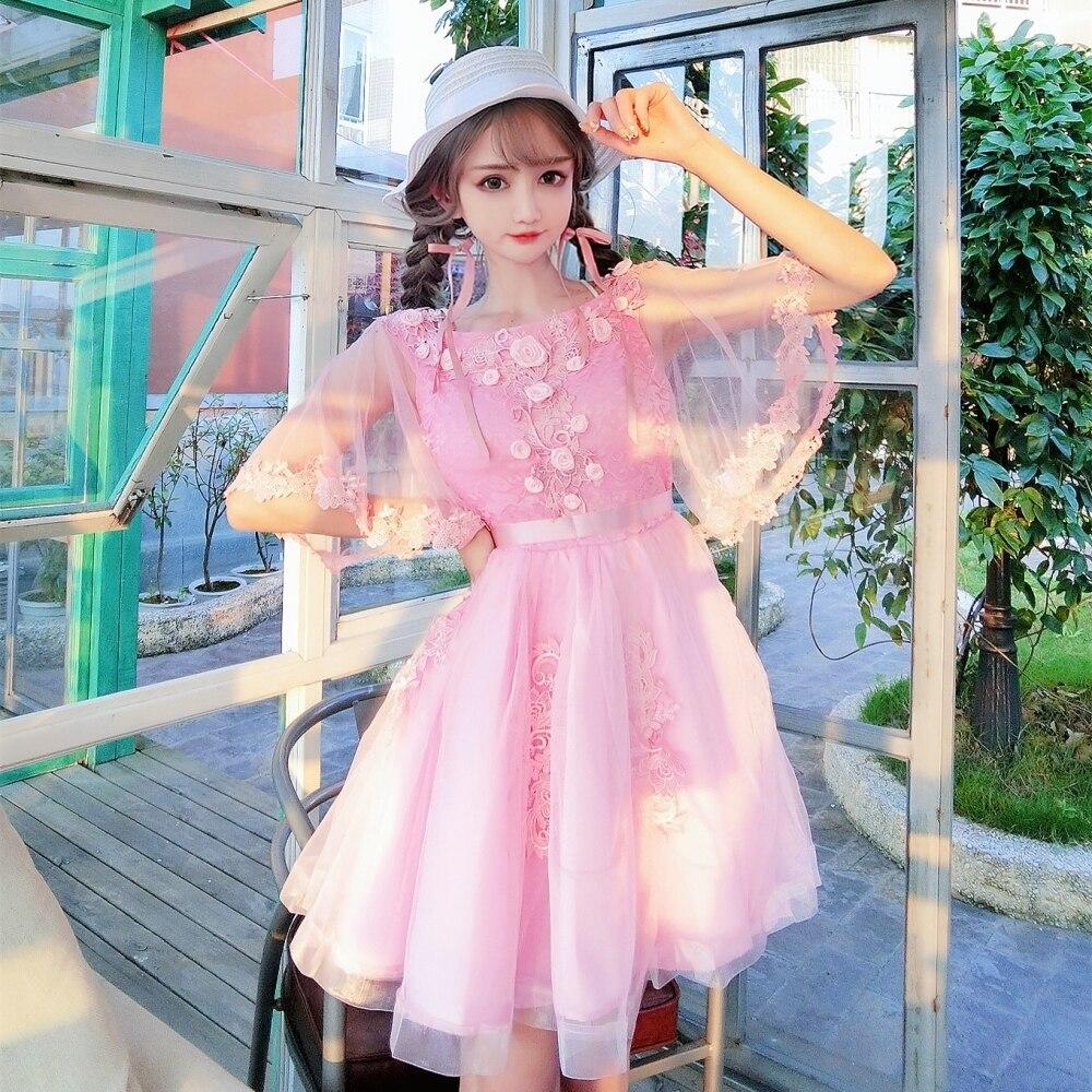 0e73ac0e1f832 Detail Feedback Questions about Summer Women's Dress Japanese Sweet ...