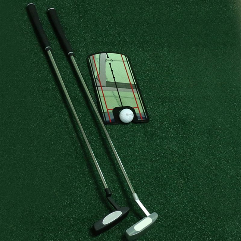 Image 2 - OOTDTY Golf Putting Mirror Training Eyeline Posture Correction Swing Practice Trainer Alignment Aid-in Golf Training Aids from Sports & Entertainment