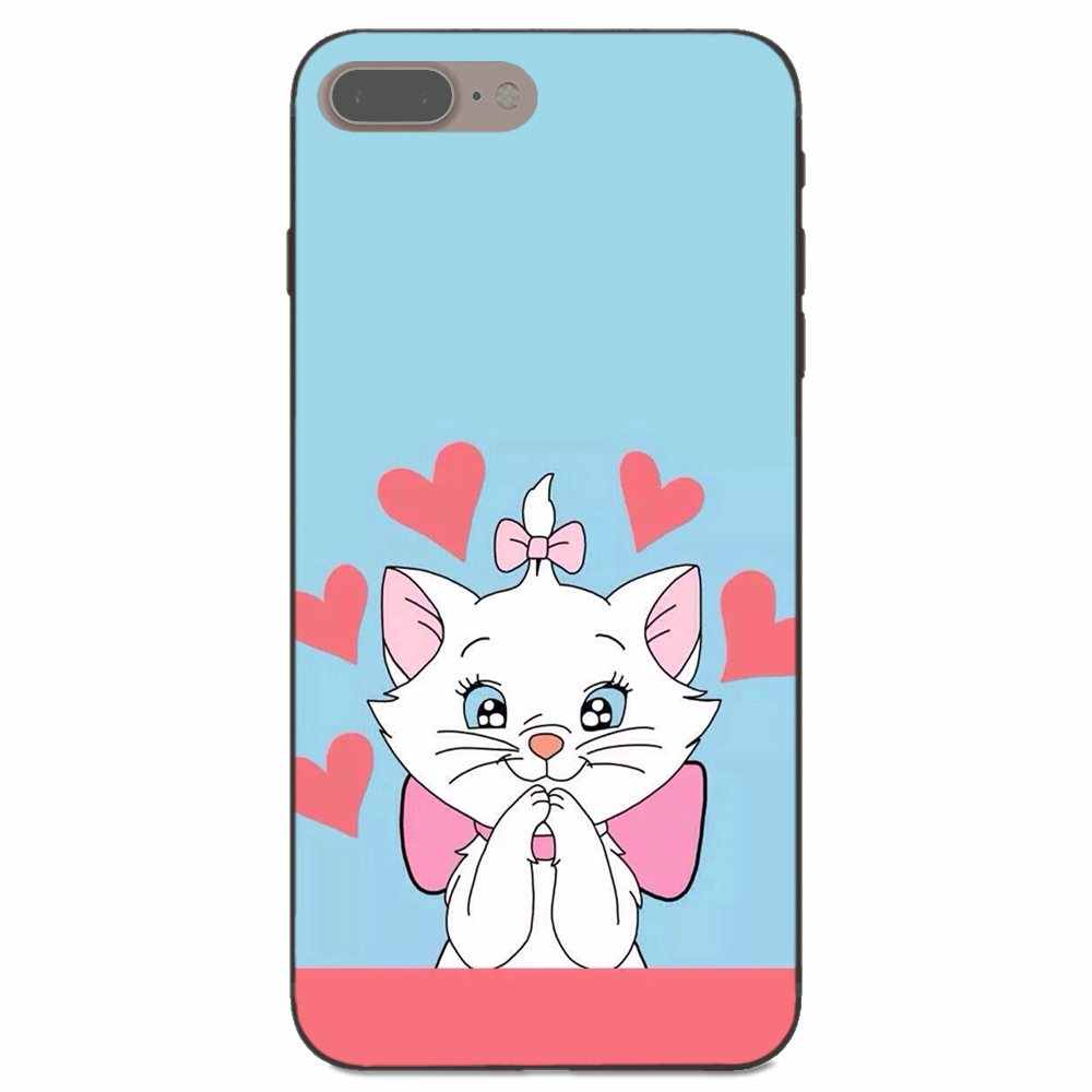 TPU Mobile aristochats chat Kitty pour Xiaomi Redmi Note 2 3 4 4A 4X5 5A 6 6A Plus Pro S2 Y2