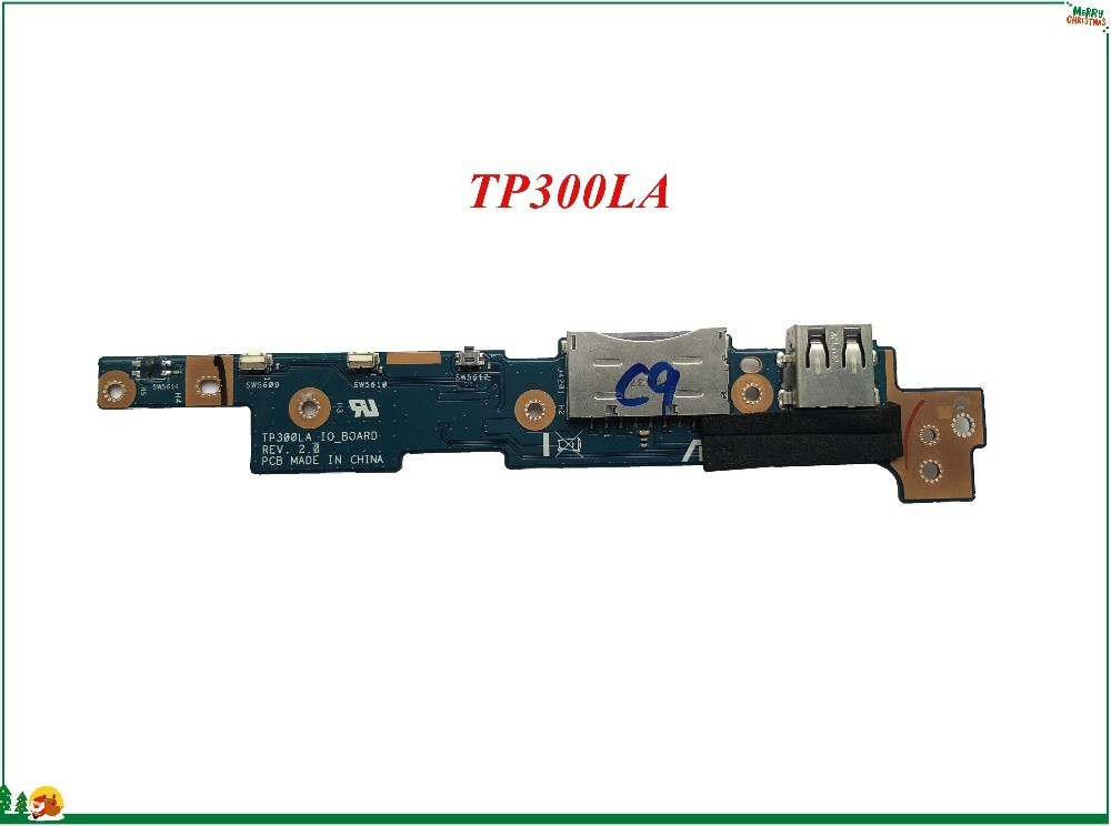 Computer & Office Diligent Laptop Power Switch On-off Button Io Board For Asus Tp300la Tp300ld Q302u Q302ua Q302 Q302l Q302la 100% Working