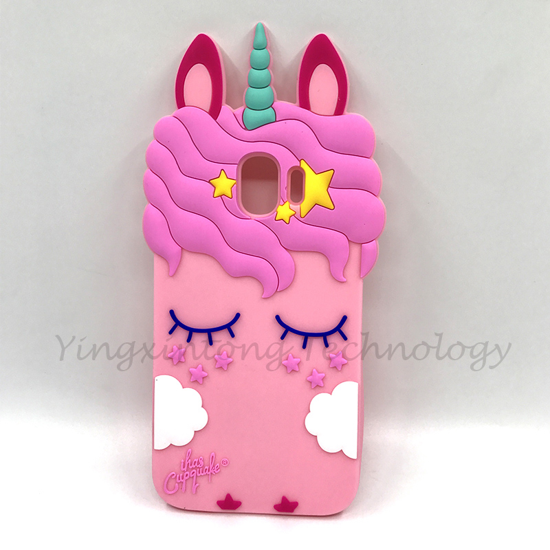 For Samsung Galaxy J2 Pro 2018 3d Silicon Stitch Unicorn Cat Cartoon Soft Phone Back Case Cover For Samsung J2 Pro 2018 J250f Fitted Cases Aliexpress